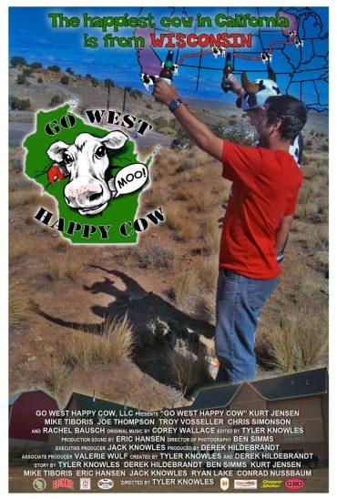Go West Happy Cow