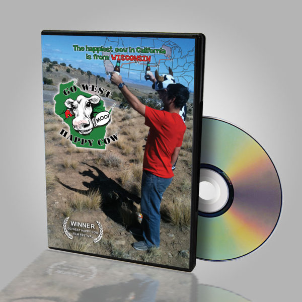 Go West Happy Cow DVD