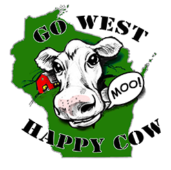 Go West Happy Cow Logo
